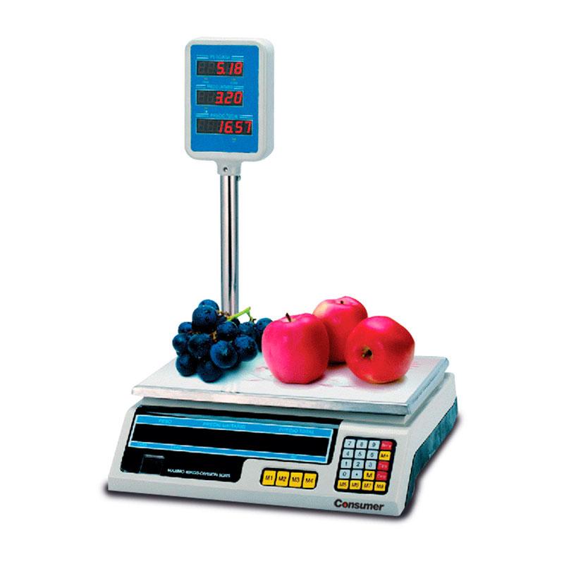 Balanza Digital con torre 30 kg.