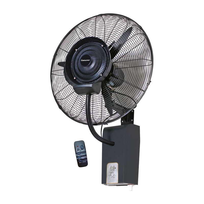 """Ventilador humidificador industrial de pared 26"""""""