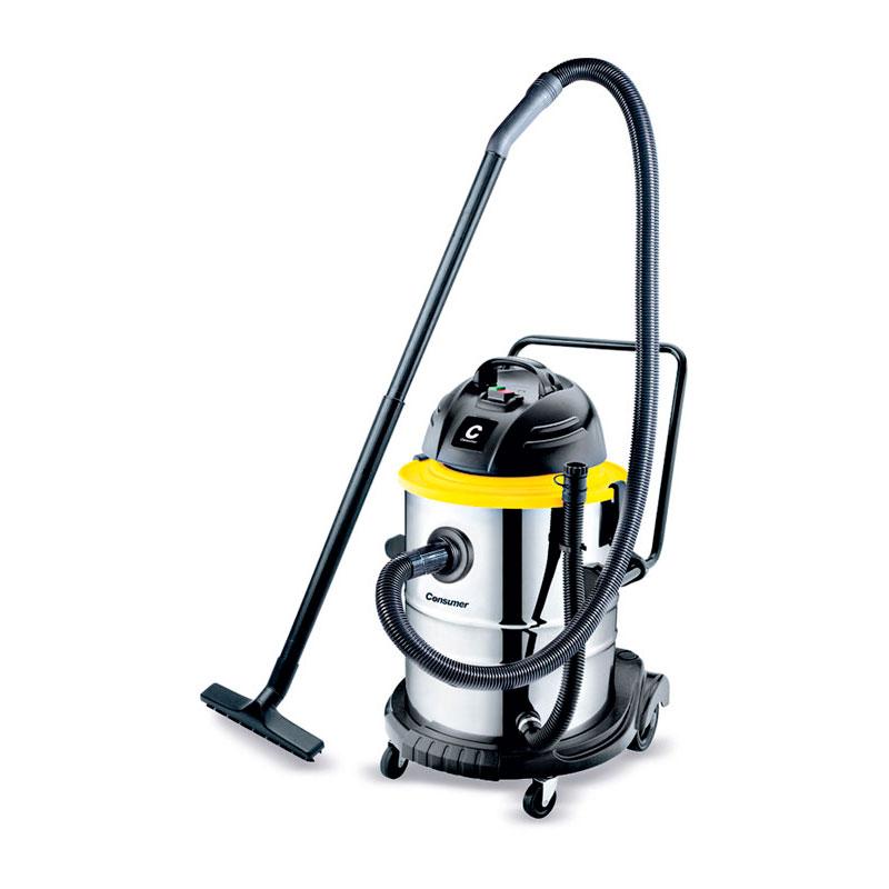 Aspiradora industrial para polvo y agua 50 L.