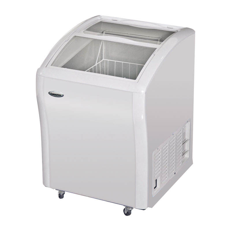 Congeladores tapa de vidrio 155 Litros