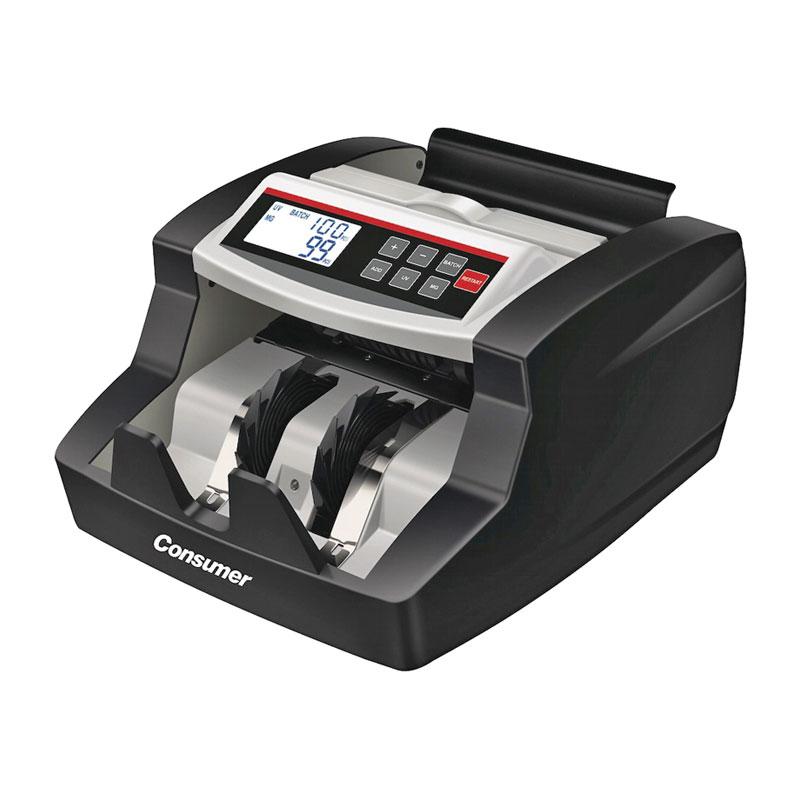 Contador de billetes PB520 con detector de billetes falsos y pantalla LCD