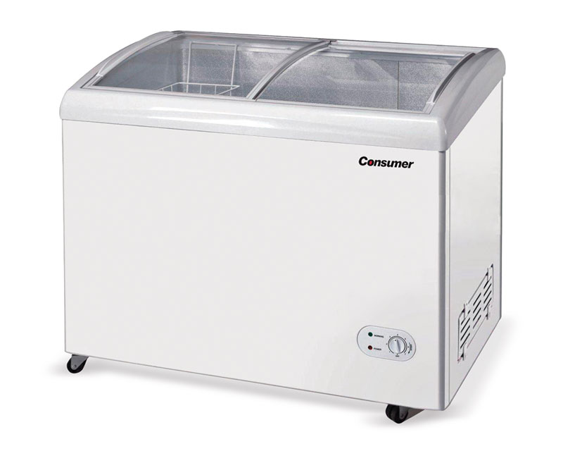 Congeladores tapa de vidrio 300 Litros