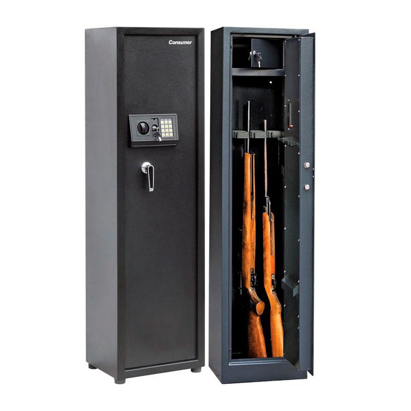 Caja de seguridad para armas