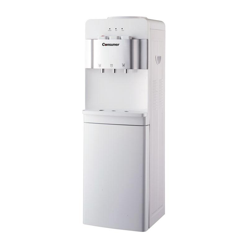 Dispenser de agua fría & caliente de pie blanco