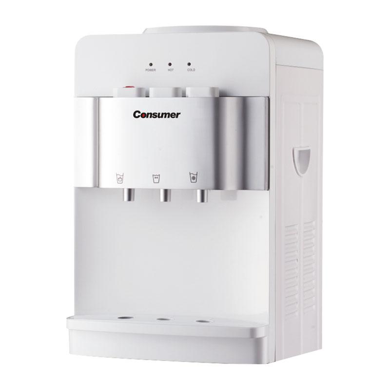 Dispenser de agua fria & caliende mesada simple