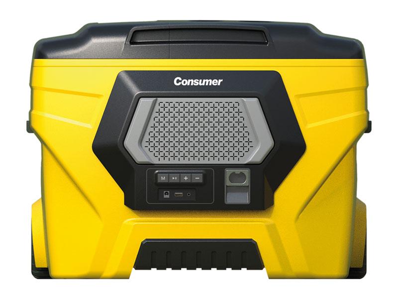 Cooler Box II con parlante bluetooth 50 L