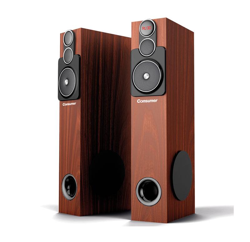 Sistema de Audio Bluetooth Tower Speaker 120W
