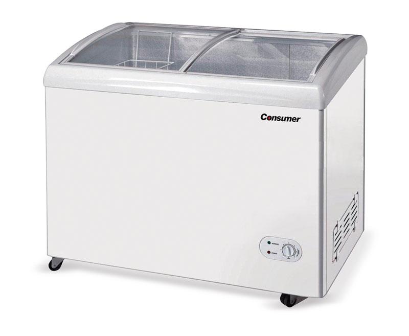 Congeladores tapa de vidrio 400 Litros
